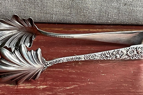 S. Kirk and Sons Sterling Silver Ice / Vegetable Tongs