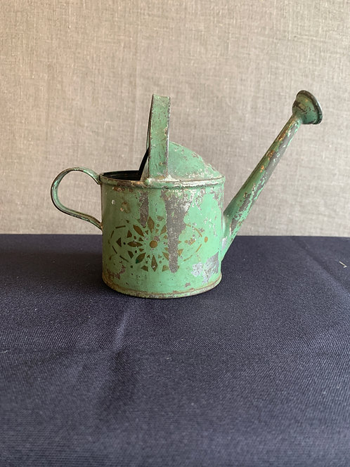 Victorian Child's Tin Watering Can