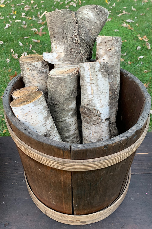 Early Staved Wooden  Bucket