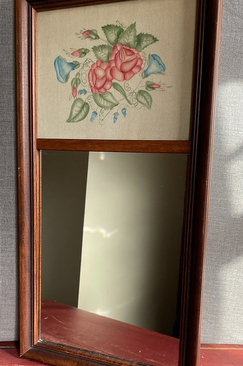 Hall Mirror with Theorem Art Work