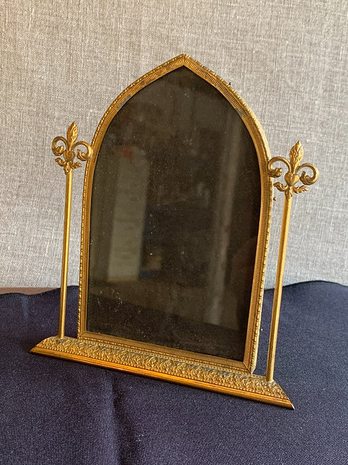 Ornate brass Gothic Arch Photo Frame