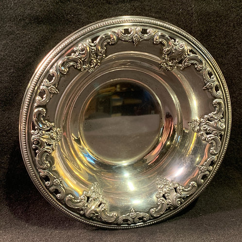 Grand Baroque Sterling Silver Bowl by Wallace