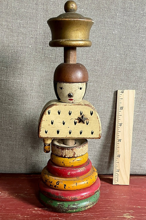 Antique Wooden Childs Toy