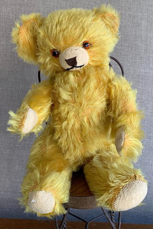 Mohair Teddy Bear with Glass Eyes