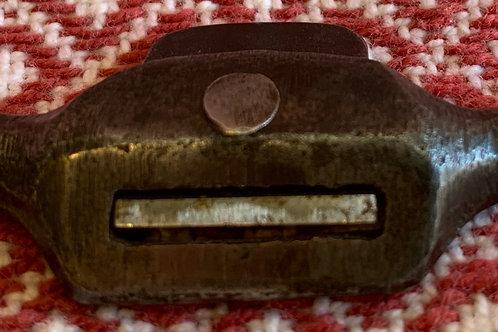 Miniature Draw Knife Spoke Shave Cast Iron
