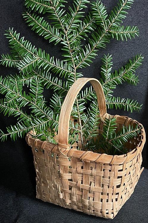 Miniature Woven Splint Basket
