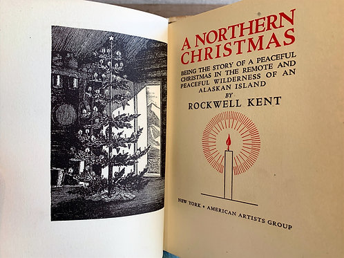A Northern Christmas Book Rockwell Kent 1941  1st Edition