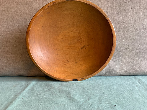 Early Wooden bowl with Burn Mark