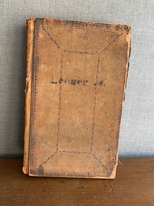 1840's Store Ledger with detailed accounting