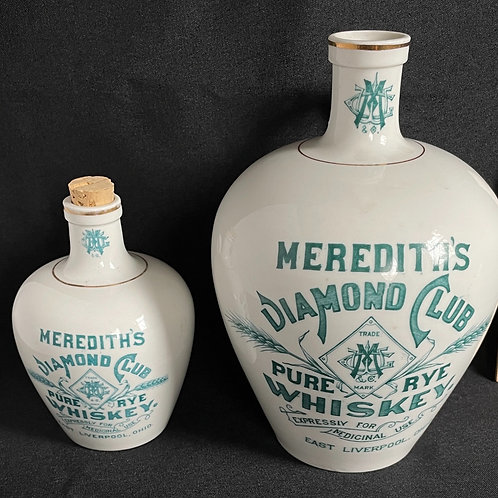 Miniature Meredith Whiskey Jug by K.T.& K.