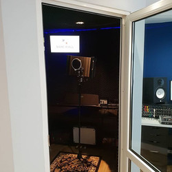 Bare Wall Studios Vocal Booth