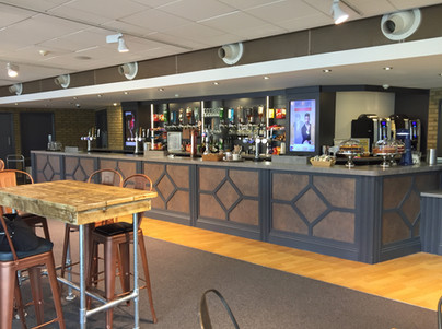 Bar and Reception fit out by Dupont Latour