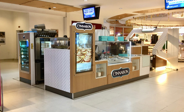 Food Kiosk by Dupont Latour
