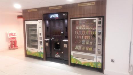 City University London Be-spoke Vending by Dupont Latour