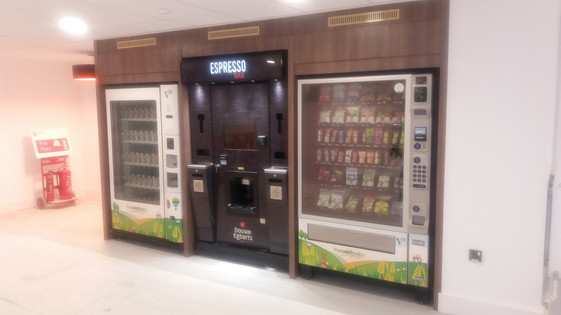 City University London Be-spoke Vending by Dupont Latour