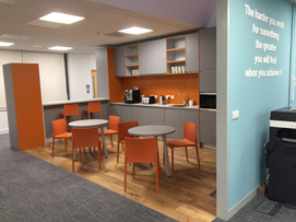 Kings Hill Office Kitchen Design and Fitout by Dupont Latour