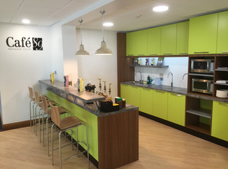 Business & Industry Modern Office Kitchen by Dupont Latour