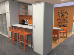 Office fit out Kitchen Design and Fit out by Dupont Latour