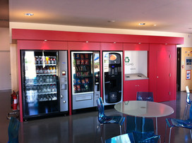 Vending Surround Design, Build and Installation by Dupont Latour