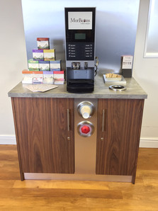 Hot Beverage Countertop Unit by Dupont Latour