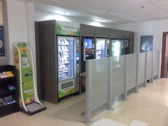NHS Southampton General Hospital Vending Surround By Dupont Latour