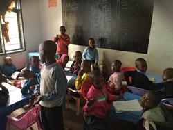 Tupendane Orphanage Classroom
