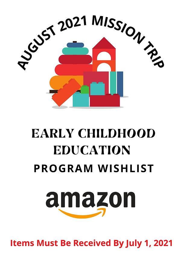 EARLY CHILDHOOD EDUCATION PROGRAM WISHLI