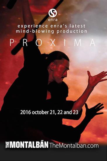 Proxima- October 21, 22 & 23, 2016