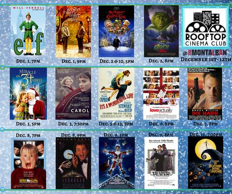 Rooftop Cinema Club- December 2017