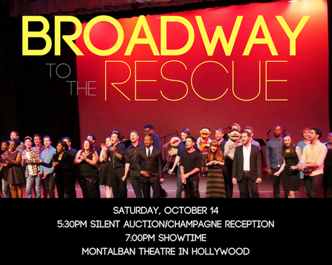 Broadway to the Rescue- October 14th, 2017