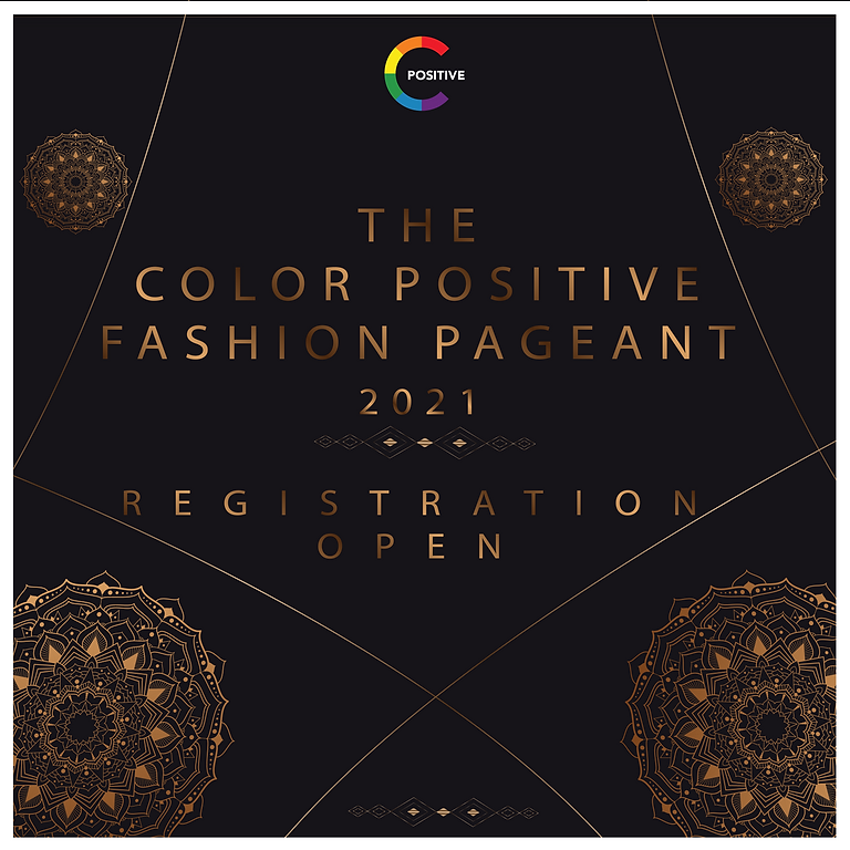 Final Call - Auditions for Color Positive Fashion Pageant