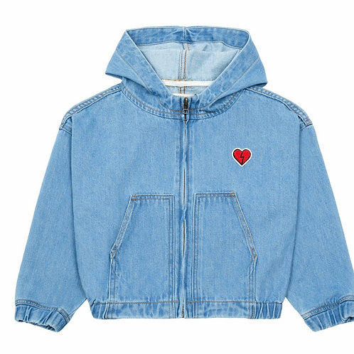 Vintage Heart Denim Jacket