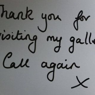 Gallery Thank You