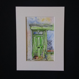 The Green Door & Broomstick