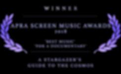 APRA Screen Music Laurel WINNER.jpg