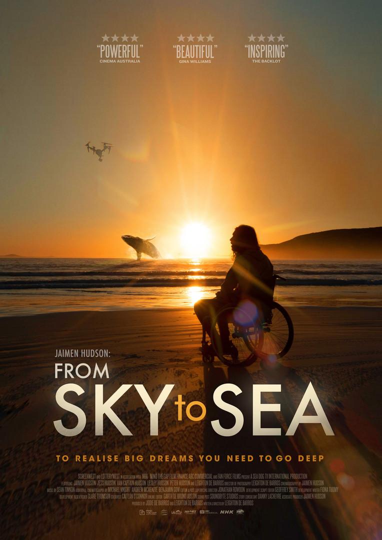 Jaimen Hudson- From Sky To Sea Poster.jp