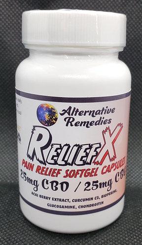 PAIN RELIEF X SOFTGEL CAPSULES