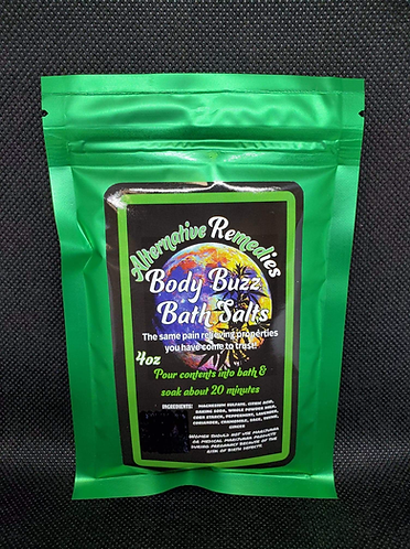 Body Buzz Bath Salts