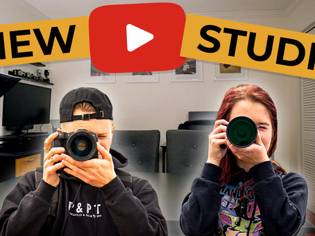 We MOVED! Our New Youtube Studio Tour