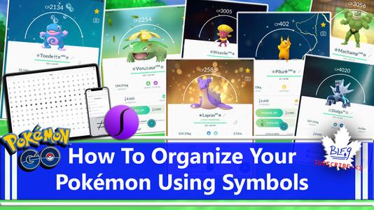 Naming Pokemon With Symbols
