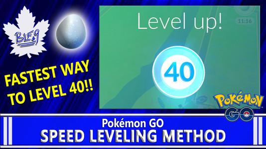 Speed Leveling