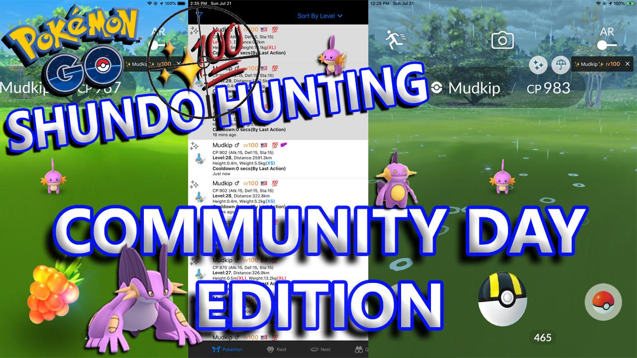 Shundo Hunting Community Day