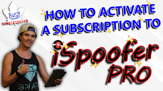 iSpoofer PRO Activation