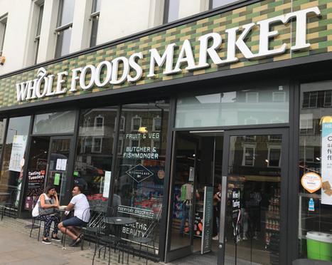 A neighbourhood Whole Foods.