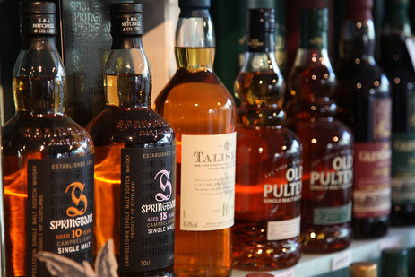 we can arrange a private whiskey tasting at Vagabond.