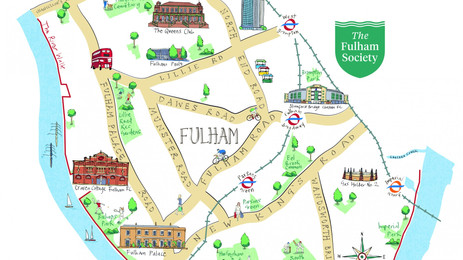 Fulham is real London.
