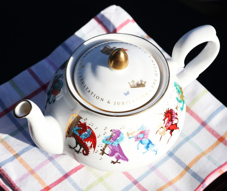 The perfect 'cuppa' starts with a proper tea pot.