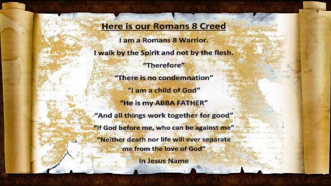 Romans 8 Creed