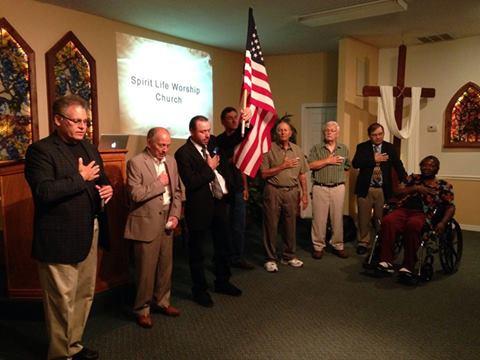 Recognizing our veteran men & women