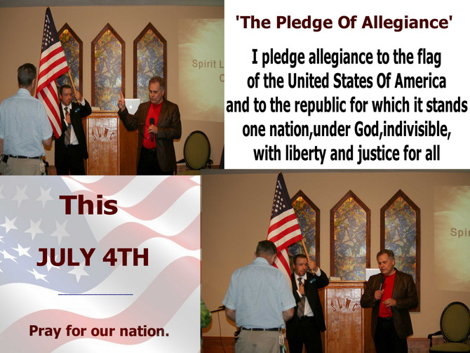 Pray for our nation-July 4th
